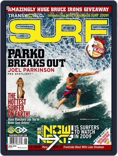 Transworld Surf March 27th, 2009 Digital Back Issue Cover