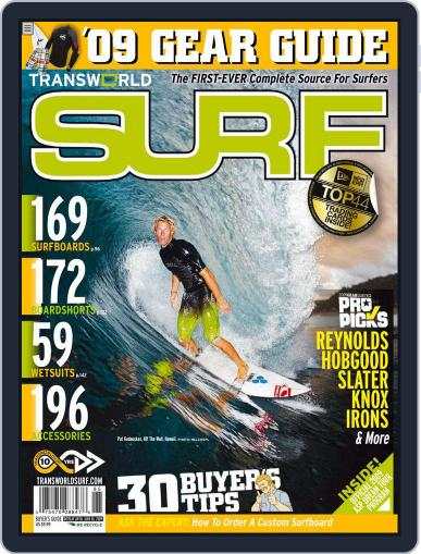 Transworld Surf (Digital) March 4th, 2009 Issue Cover