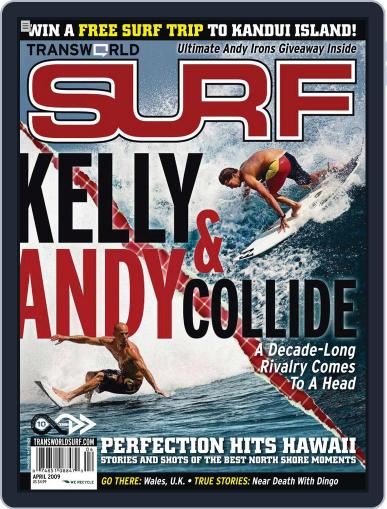 Transworld Surf (Digital) January 27th, 2009 Issue Cover