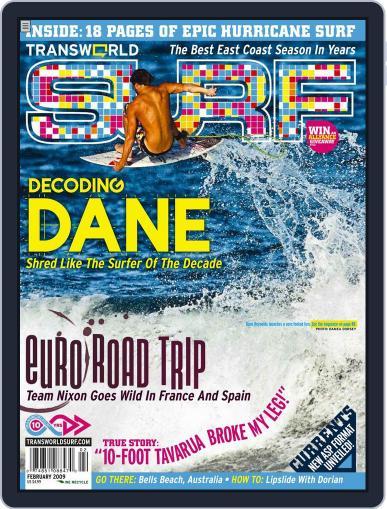 Transworld Surf (Digital) December 2nd, 2008 Issue Cover
