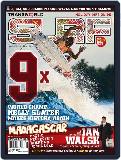Transworld Surf (Digital) November 5th, 2008 Issue Cover