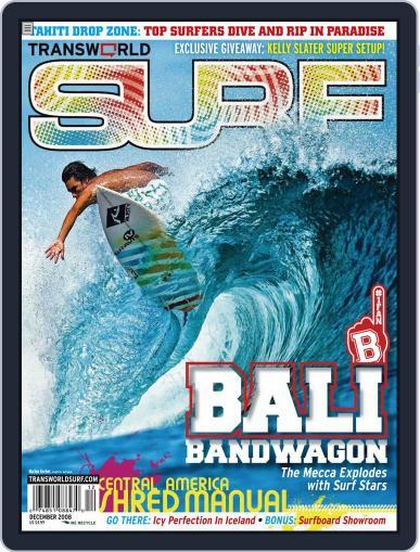 Transworld Surf (Digital) October 3rd, 2008 Issue Cover