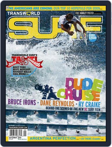 Transworld Surf (Digital) July 10th, 2008 Issue Cover