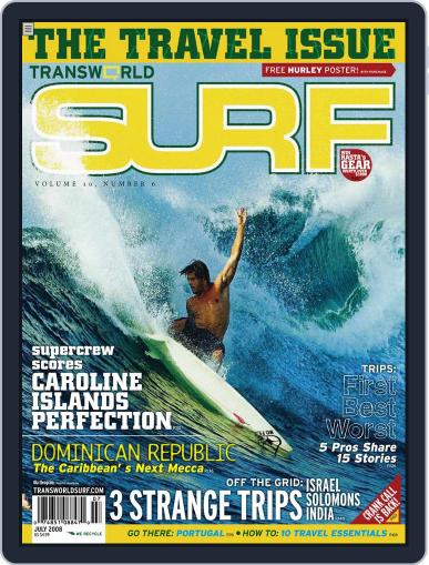 Transworld Surf (Digital) May 7th, 2008 Issue Cover