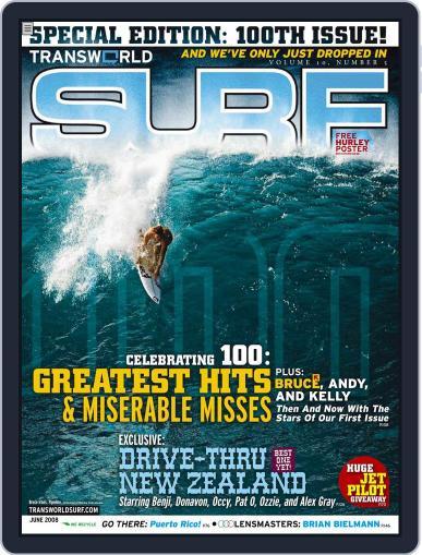 Transworld Surf (Digital) April 1st, 2008 Issue Cover