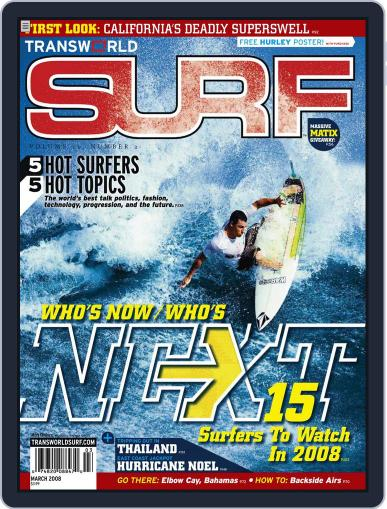 Transworld Surf (Digital) January 2nd, 2008 Issue Cover
