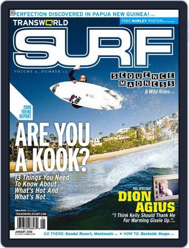Transworld Surf (Digital) November 7th, 2007 Issue Cover