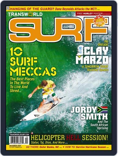 Transworld Surf (Digital) October 8th, 2007 Issue Cover