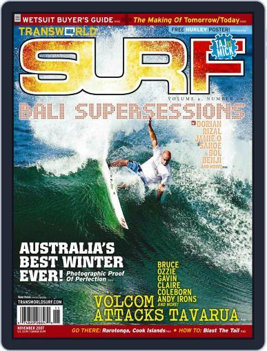 Transworld Surf September 10th, 2007 Digital Back Issue Cover