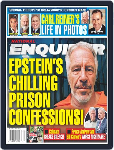 National Enquirer July 20th, 2020 Digital Back Issue Cover