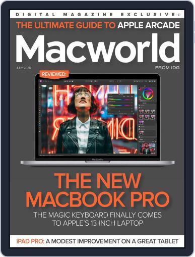 Macworld July 1st, 2020 Digital Back Issue Cover