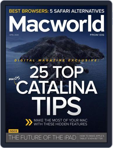Macworld April 1st, 2020 Digital Back Issue Cover