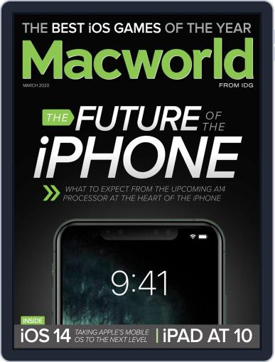 Macworld March 1st, 2020 Digital Back Issue Cover