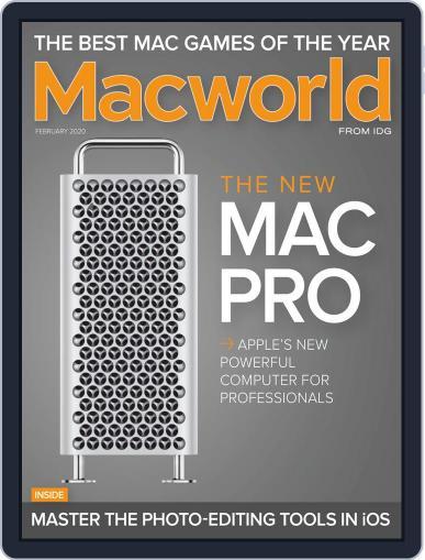 Macworld February 1st, 2020 Digital Back Issue Cover