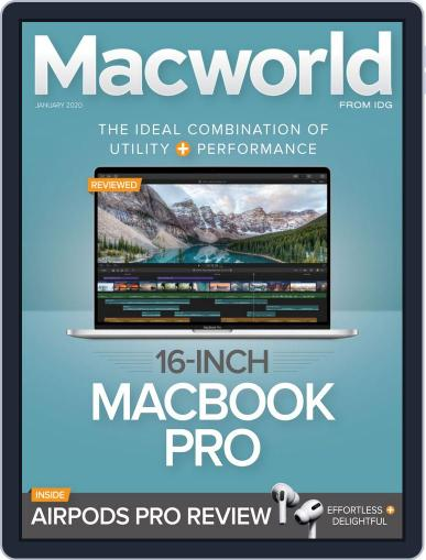 Macworld January 1st, 2020 Digital Back Issue Cover