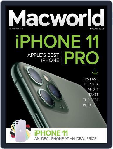 Macworld November 1st, 2019 Digital Back Issue Cover