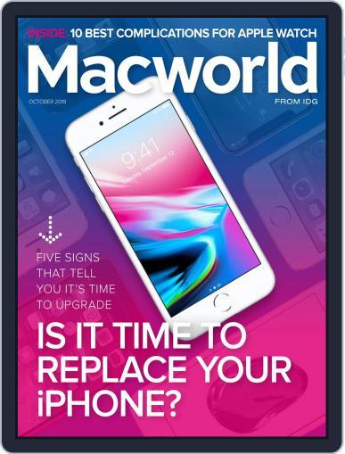 Macworld October 1st, 2019 Digital Back Issue Cover