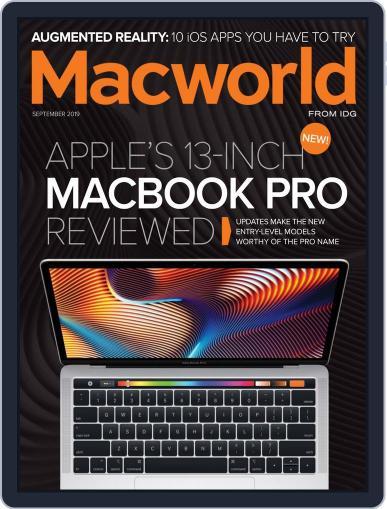 Macworld September 1st, 2019 Digital Back Issue Cover