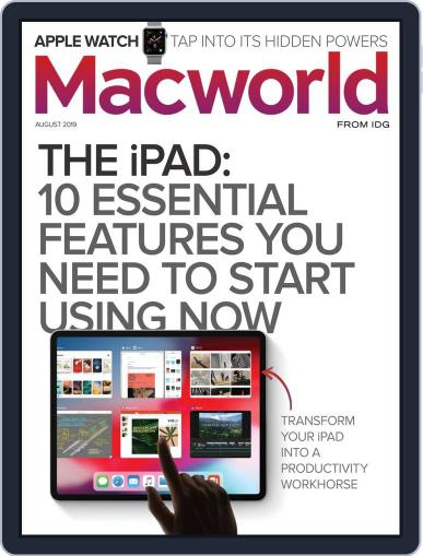 Macworld August 1st, 2019 Digital Back Issue Cover
