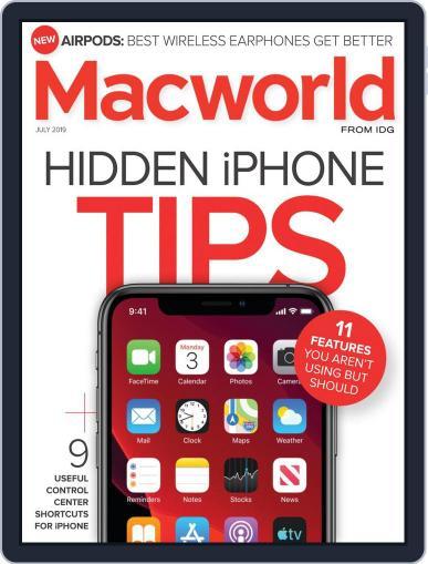 Macworld July 1st, 2019 Digital Back Issue Cover