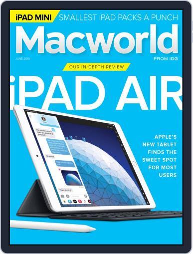 Macworld June 1st, 2019 Digital Back Issue Cover