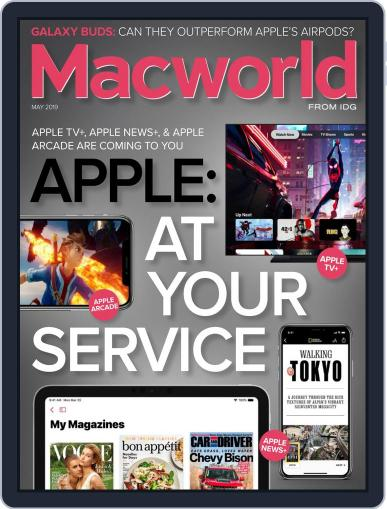 Macworld May 1st, 2019 Digital Back Issue Cover