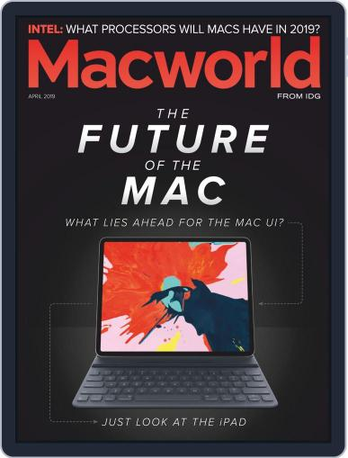 Macworld April 1st, 2019 Digital Back Issue Cover