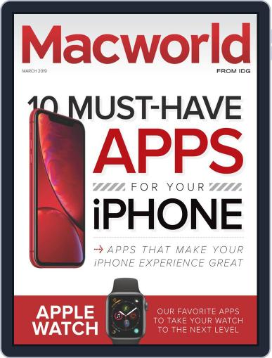 Macworld March 1st, 2019 Digital Back Issue Cover