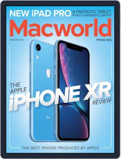 Macworld February 1st, 2019 Digital Back Issue Cover