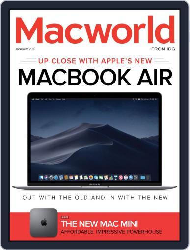 Macworld January 1st, 2019 Digital Back Issue Cover