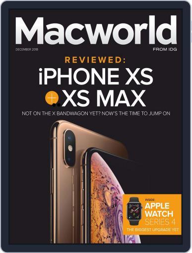 Macworld December 1st, 2018 Digital Back Issue Cover