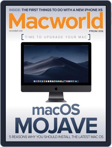 Macworld (Digital) November 1st, 2018 Issue Cover