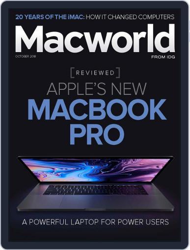 Macworld September 18th, 2018 Digital Back Issue Cover