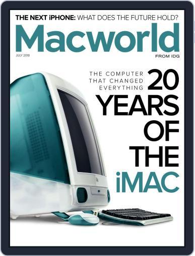 Macworld July 1st, 2018 Digital Back Issue Cover