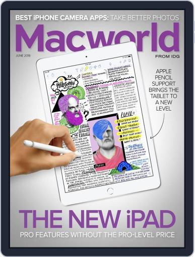 Macworld (Digital) June 1st, 2018 Issue Cover