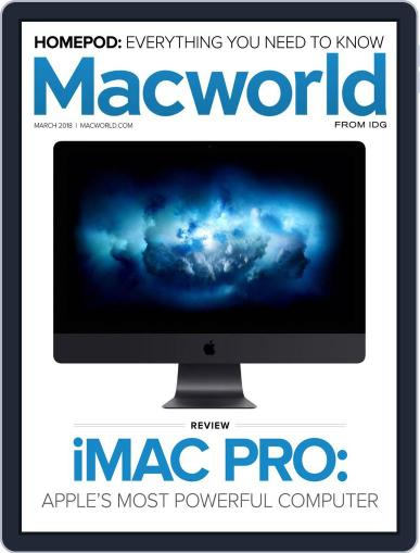 Macworld March 1st, 2018 Digital Back Issue Cover