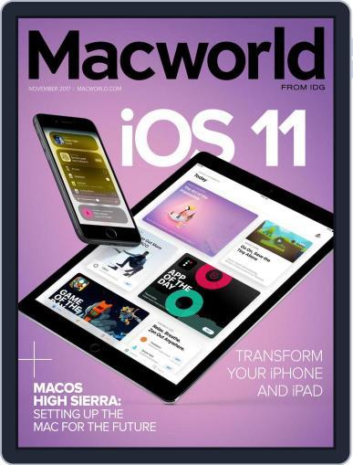 Macworld November 1st, 2017 Digital Back Issue Cover