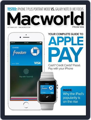 Macworld October 1st, 2017 Digital Back Issue Cover