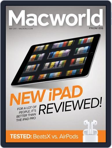 Macworld May 1st, 2017 Digital Back Issue Cover