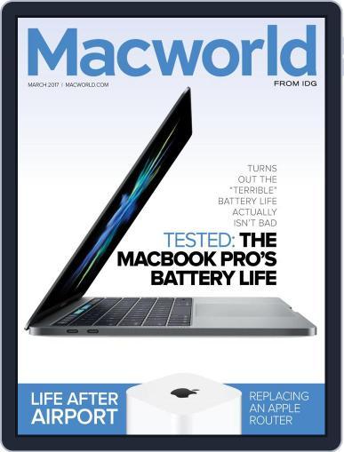 Macworld February 21st, 2017 Digital Back Issue Cover
