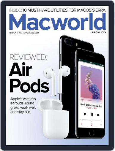 Macworld (Digital) January 24th, 2017 Issue Cover