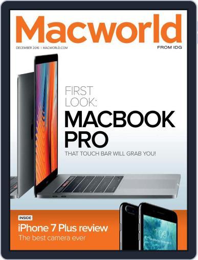 Macworld December 1st, 2016 Digital Back Issue Cover