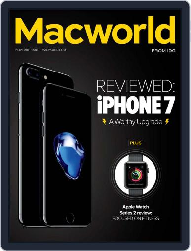 Macworld (Digital) November 1st, 2016 Issue Cover