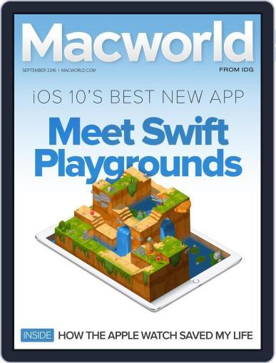 Macworld August 16th, 2016 Digital Back Issue Cover
