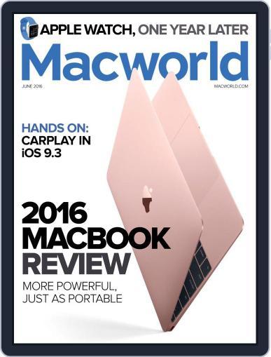 Macworld May 17th, 2016 Digital Back Issue Cover