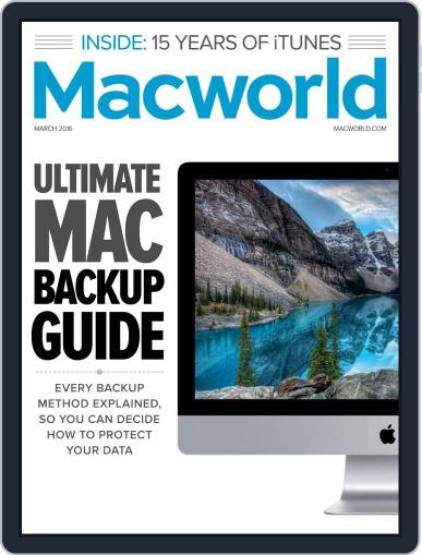 Macworld (Digital) March 1st, 2016 Issue Cover