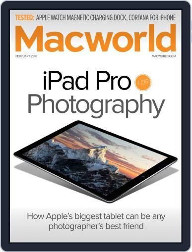 Macworld February 1st, 2016 Digital Back Issue Cover