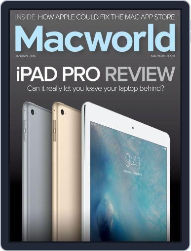 Macworld January 1st, 2016 Digital Back Issue Cover