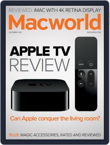 Macworld (Digital) December 1st, 2015 Issue Cover