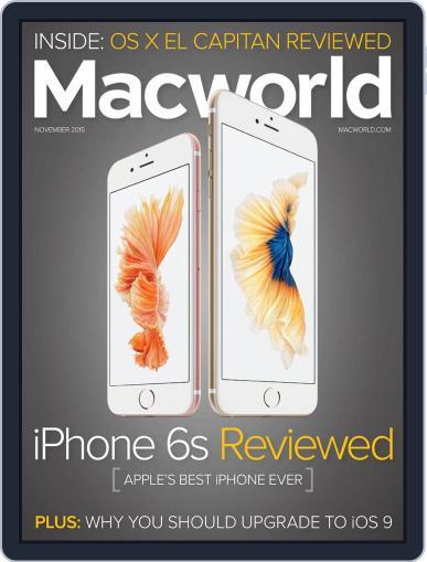 Macworld November 1st, 2015 Digital Back Issue Cover